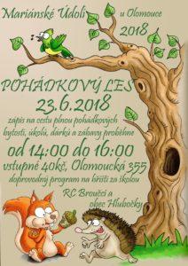 Pohádkový les pro děti 2018