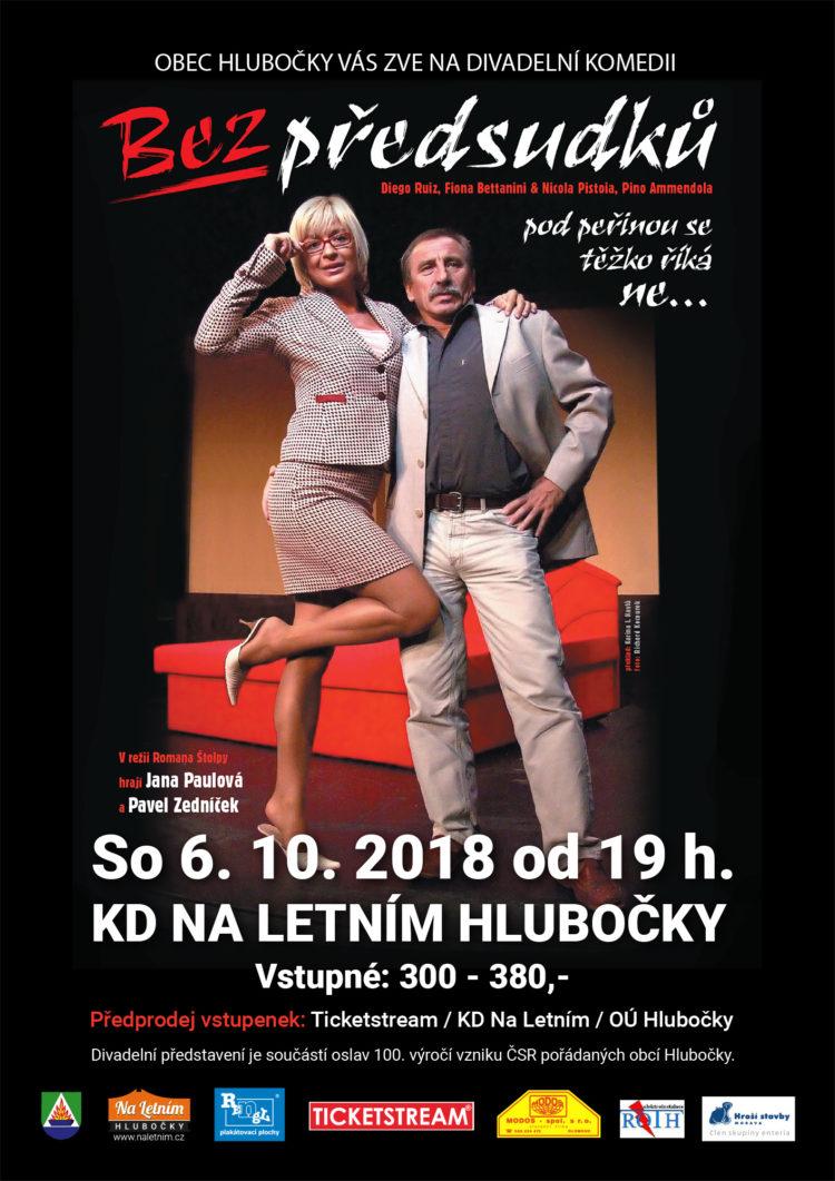 Divadlo Bez předsudků - KD Hlubočky