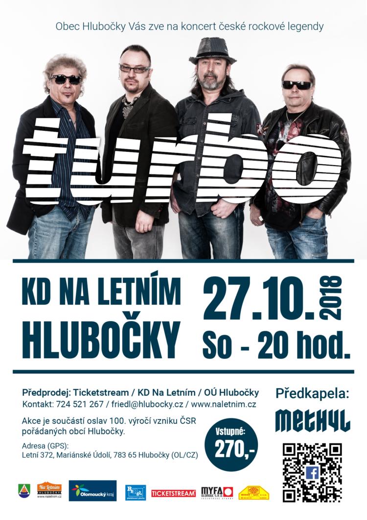 Koncert Turbo - Hlubočky
