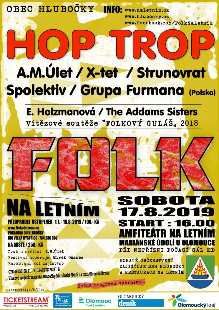Folk Na Letním 2019 - Hlubočky