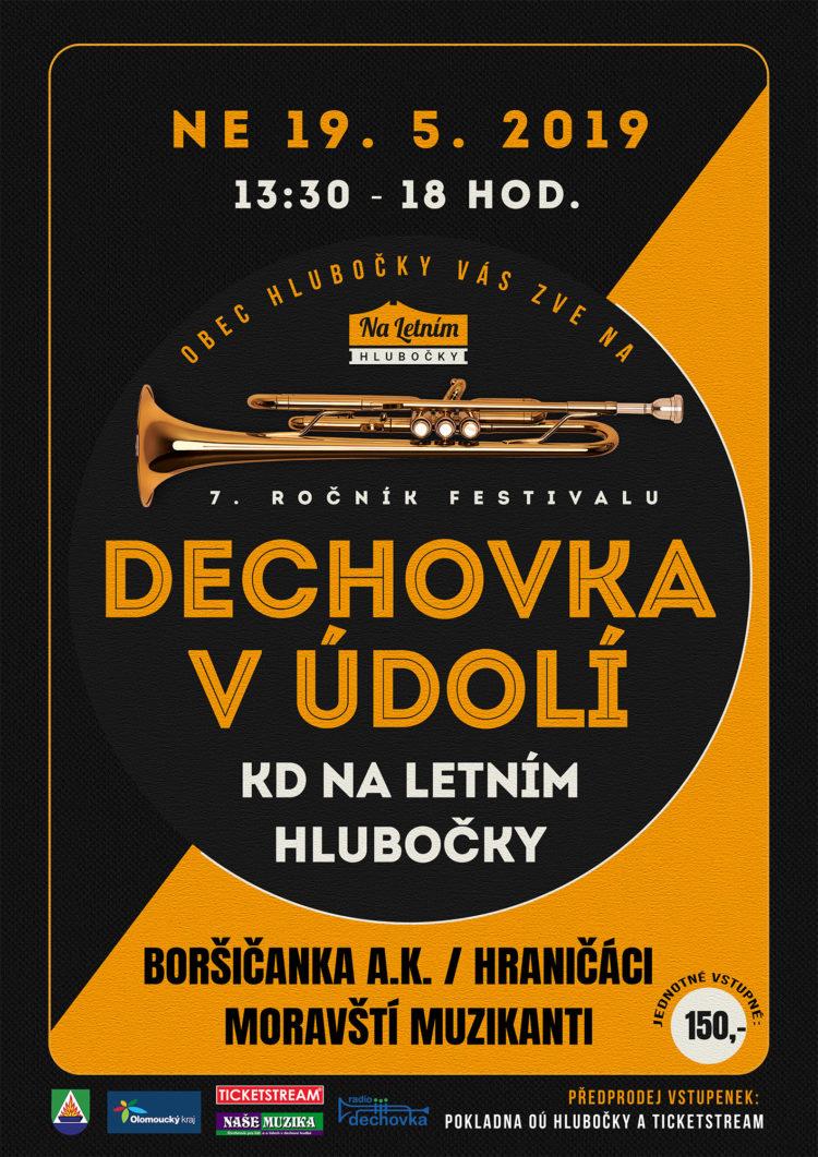 Dechovka v Údolí 2019 - Hlubočky