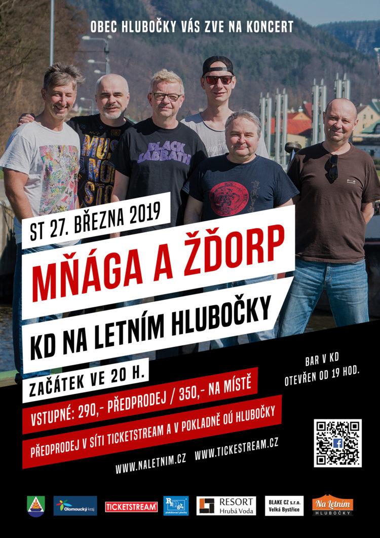 Mňága a Žďorp - KD Na Letním - Hlubočky