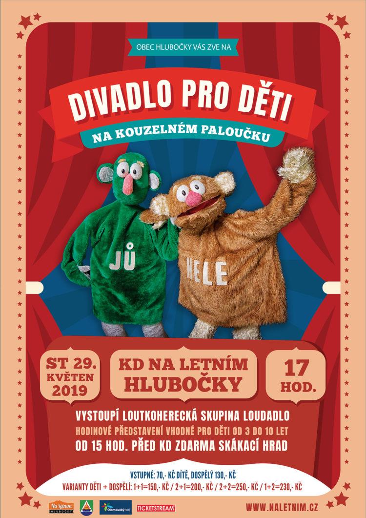 Dětské divadlo Loudadlo - KD Na Letním Hlubočky