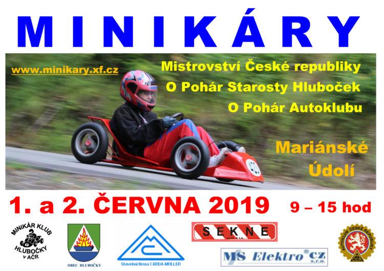 Mistrovství ČR minikár Hlubočky