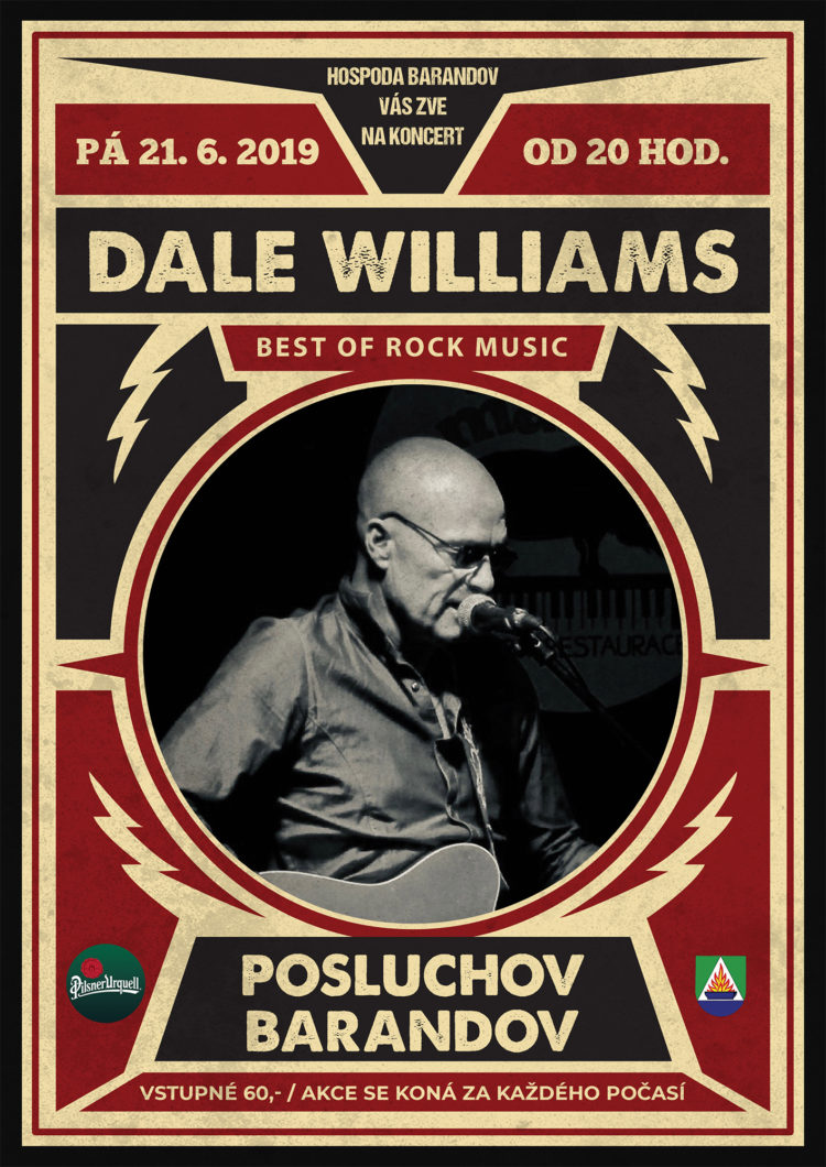 Koncert Dale Williams - Posluchov