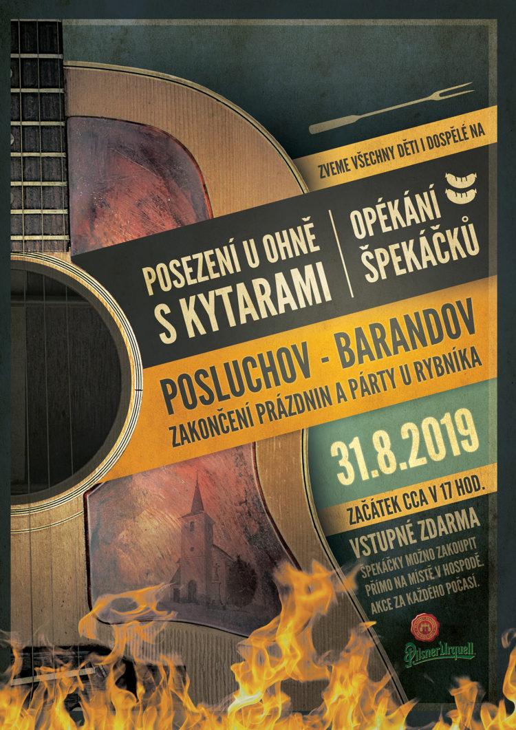 Hospoda Barandov Posluchov - zakončení prázdnin 2019