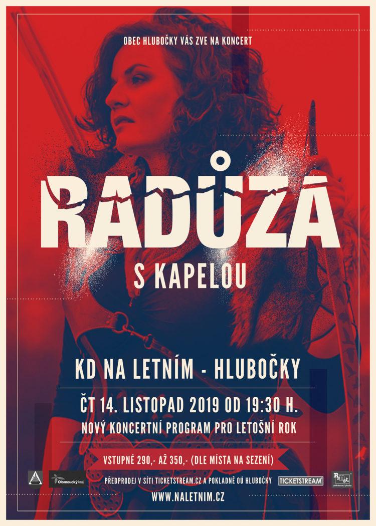 Radůza s kapelou 14. 11. 2019 - KD Na Letním - Hlubočky