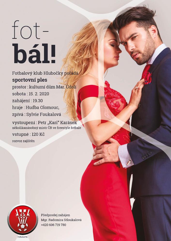 Ples FK Hlubočky