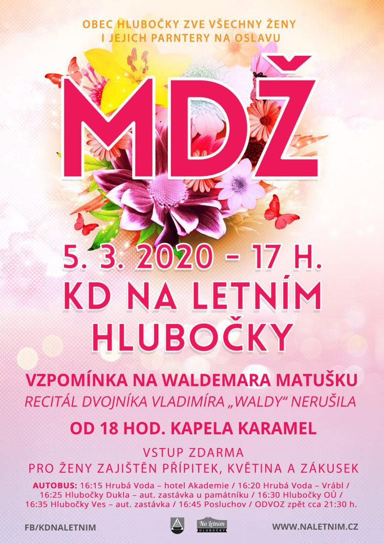 MDŽ - KD Na Letním - Hlubočky