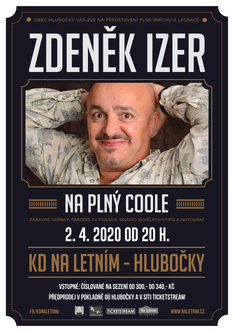 """Zdeněk Izer """"Na plný coole"""" - Hlubočky"""