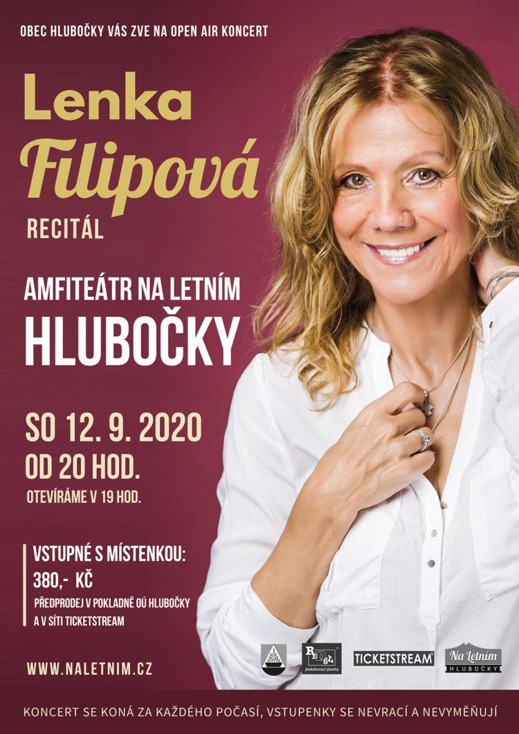 Lenka Filipová - recitál - Hlubočky