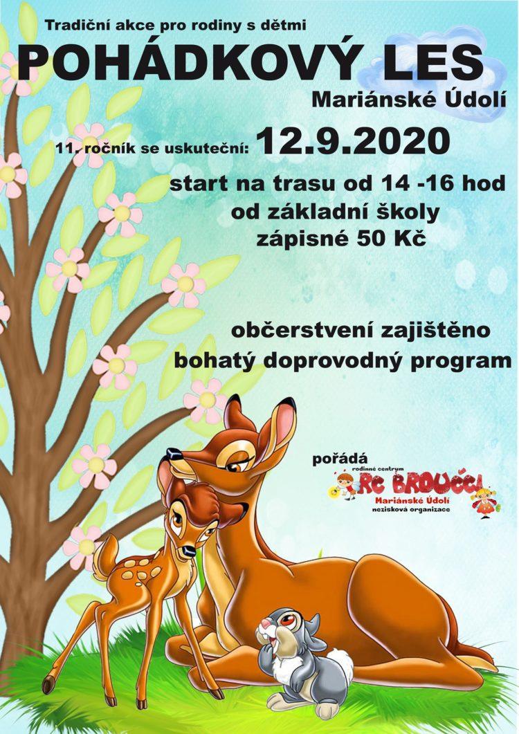 Pohádkový les 2020 - Hlubočky