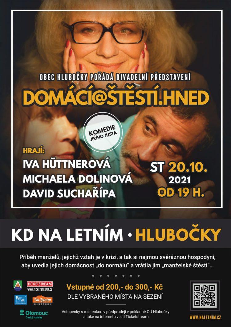 Divadlo domácí@štěstí.hned Hlubočky